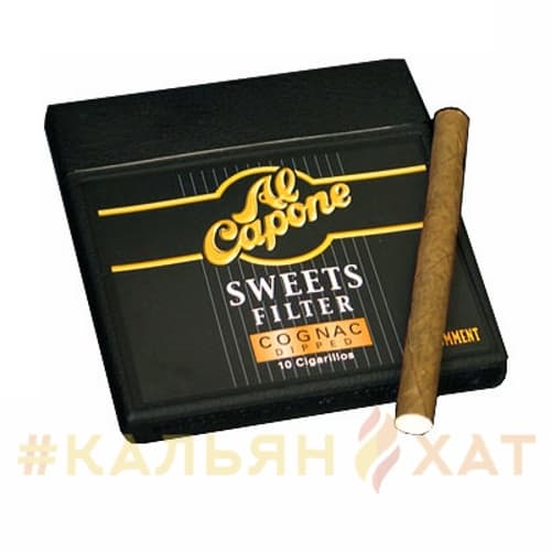 Сигариллы Al Capone Sweets Cognac Dipped Filter
